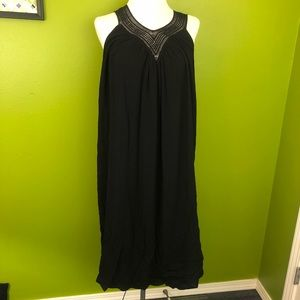 Liz Lange Maternity Black Sleeveless Dress, NWT